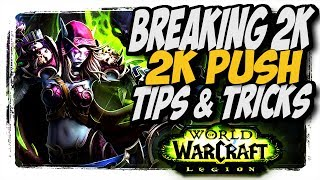 BM hunter PvP TIPS AND TRICKS!! 2K Arena Push WoW Legion 7.2