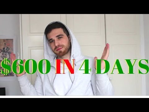 SWING TRADING FOR $600 PROFIT | Trading Stocks For Beginners 2019