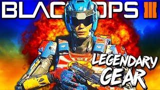 """MY LEGENDARY GEAR! My BO3 """"Black Market"""" Gear Showcase - Black Ops 3 Specialist"""