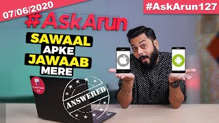 Mi Notebook Price🤔, New POCO Device😉, realme X3 India Launch Date,OnePlus 8T,ROG Phone 3-#AskArun127