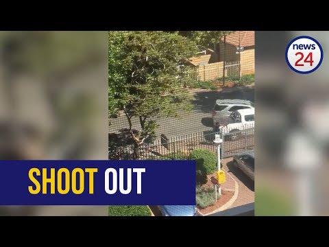 WATCH: Suspect shot dead during a cash-in-transit heist in