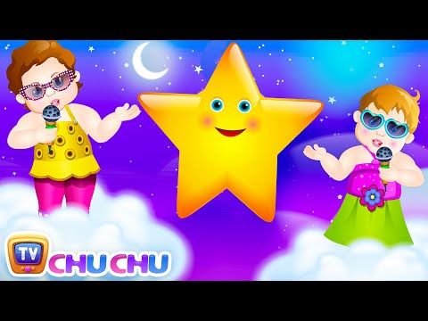 Thumbnail: Twinkle Twinkle Little Star Rhyme with Lyrics - English Nursery Rhymes Songs for Children