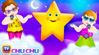 Repeat youtube video Twinkle Twinkle Little Star Rhyme with Lyrics - English Nursery Rhymes Songs for Children