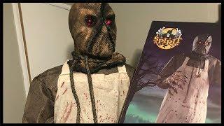 Burlap Horror Unboxing & Setup | Spirit Halloween
