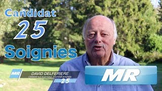 MR - David Delferiere / Candidat n° 25 à Soignies