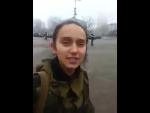 Чеченские добровольцы в