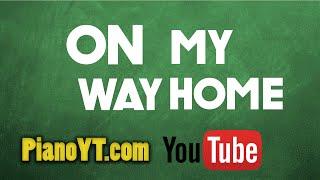 On my way home - Enya Piano Tutorial - PianoYT.com