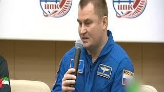 алексей Овчинин рассказал, как прошла его работа на МКС