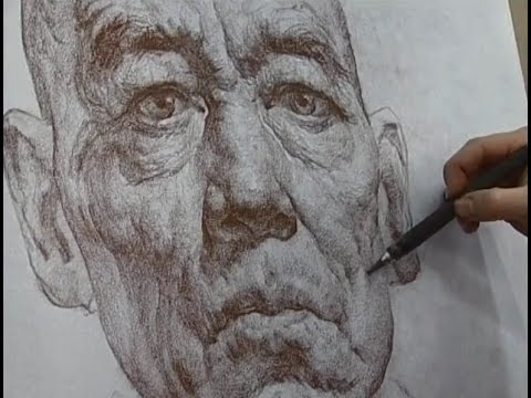 Portrait Drawing by Master Artist