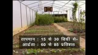 How to build/Construct polyhouse/green house/glass house - A technology by ICAR New Delhi.
