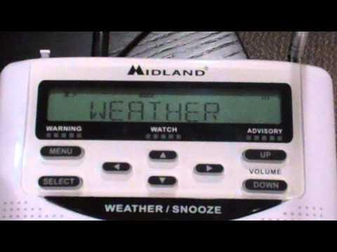 Marine Forecast on NOAA Weather Radio