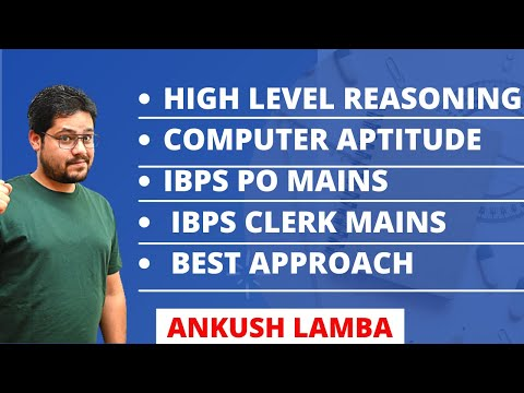 COMPUTER APTITUDE || IBPS PO MAINS || IBPS CLERK MAINS || HIGH LEVEL REASONING || BEST APPROACH