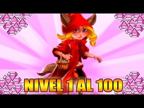 Monster Legends - SORTEO GEMAS - Little Red Furry Cap - Level 1 to 100 & Combat - Review