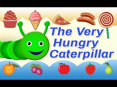 The Very Hungry Caterpillar | Animated Stories For Children | Bedtime Stories for Kids