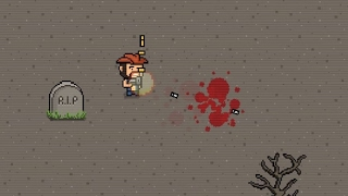 Пиксельный зомби-шутер 2017 (Pixel Zombie Shooter 2017) // Геймплей
