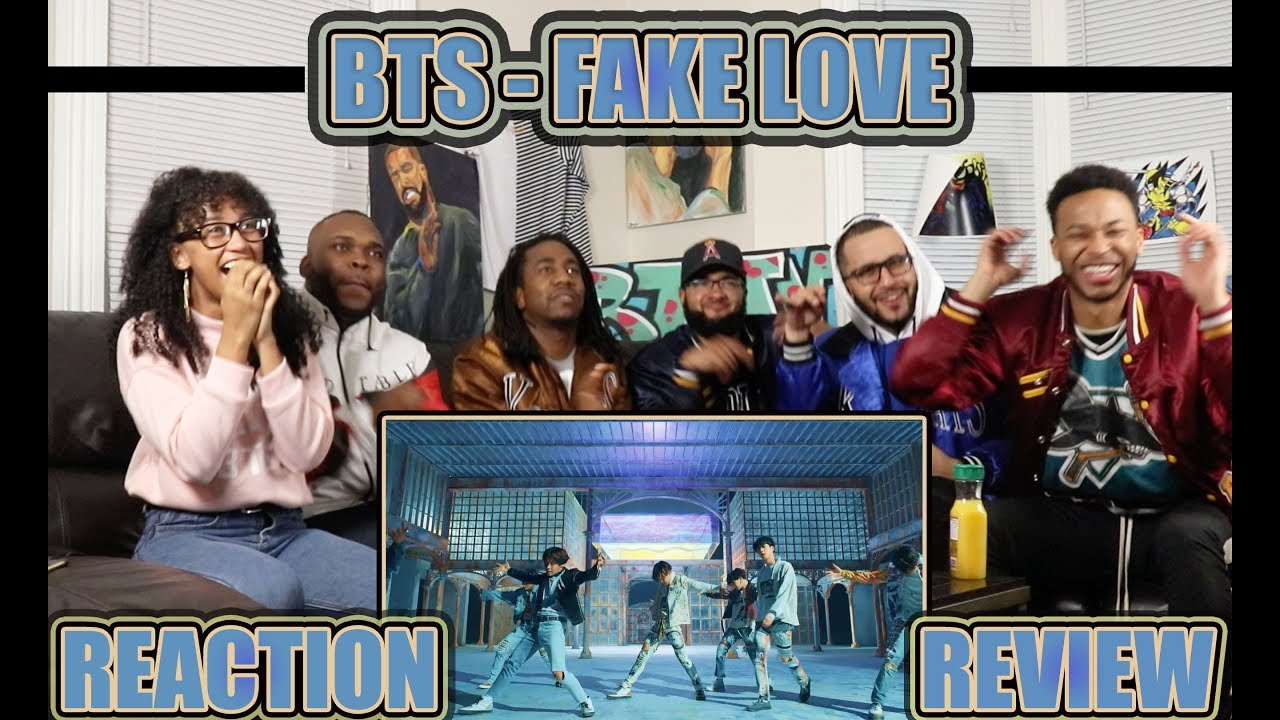 BTS 방탄소년단 'FAKE LOVE' Official MV REACTION/REVIEW #1