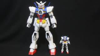 http://www.gundam.tk | http://twitter.com/gundamtk | My largest Gundam kit to date! The Gundam Age-1 Normal gets a 1-48 scale Mega Size Model. Big parts ...