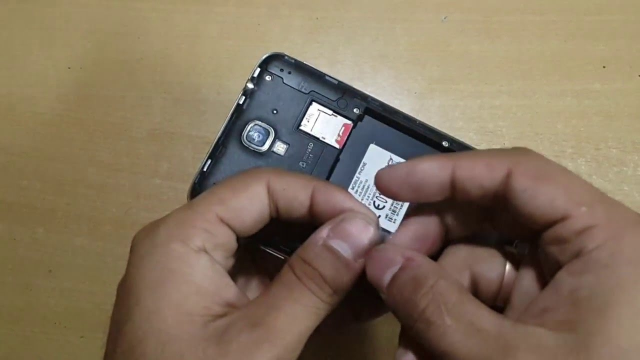How To Remove Sim Card From Mobile Phone Slot