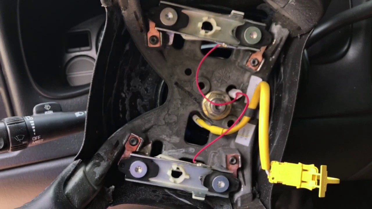 94 gmc sierra steering column wiring diagram gmc sierra steering wheel diagram how to fix a horn thats not working how to take the
