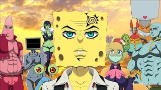 The SpongeBob SquarePants Anime OPENING Nanatsu No Taizai (Original Animation)