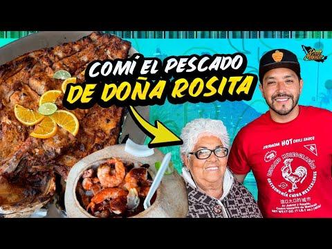 El PESCADO ZARANDEADO de Doña ROSITA y COCOS con Almeja | San Carlos Día 16 #DondeiniciaMexicoLRG