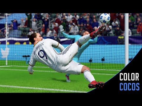 FIFA 18 | ZLATAN IBRAHIMOVIC LA GALAXY BEST GOALS