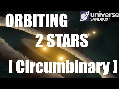 Binary Stars and Circumbinary Planets - Terraforming in Universe Sandbox 2