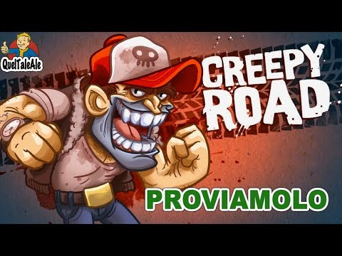 Creepy Road - Gameplay ITA - Proviamolo cercando di non lanciare il pad dalla finestra...