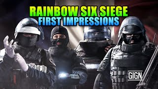 Rainbow Six Siege First Impressions - Should You Buy It?