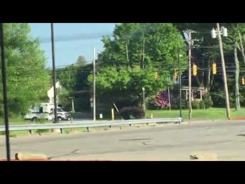 Greenville's Life Force Ambulance Responding To A Medical Call!-(5/28/15!)