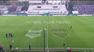 Fútbol en vivo. Gimnasia y Esgrima L.P. - Boca. Fecha 22. Torneo de Primera División 2015. FPT.
