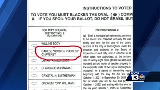 'HOOVER PROTEST': Birmingham City Council candidate adds nickname to ballot