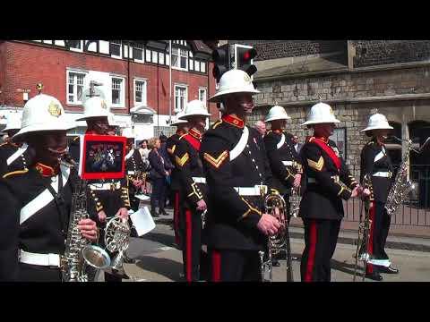 Zeebrugge Raid -100th Anniversary Commemoration, Dover Parade 23 April 2018