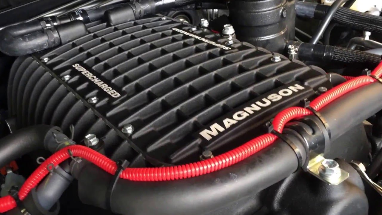 Supercharged 2016 Toyota Tundra TRDPRO  Magnuson Superchargers