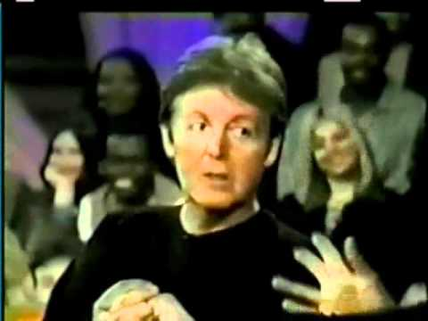 Paul McCartney on Oprah (Nov. 1997) part 5 - YouTube