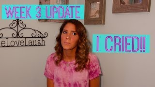 UPPER JAW SURGERY UPDATE.. 3 WEEKS POST-OP | VICTORIA BACHLET