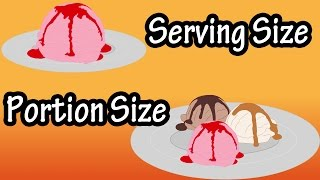 Serving Size And Portion Size - What Is A Serving Size - How Much Is One Serving thumbnail