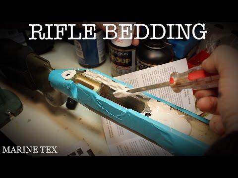 BEDDING RIFLE ACTION, MARINE-TEX