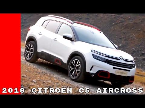 2018 Citroen C5 Aircross Progressive Hydraulic Suspension Hill Assist Descent Control