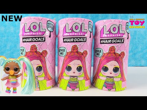 LOL Surprise Hairgoals NEW Makeover Series Blind Bag Doll Review Unboxing | PSToyReviews