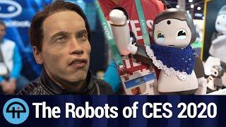10 Robots We Ran Into At Ces 2020