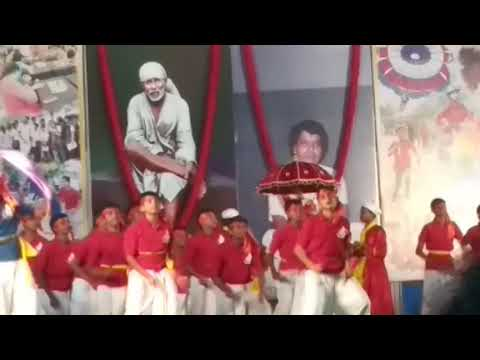 Sai Baba song dance by students of Sai Baba Central school