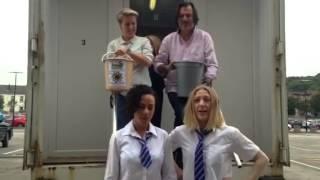 Alicya Eyo and Kelli Hollis ice bucket challenge
