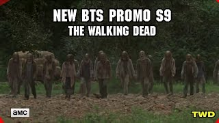 The Walking Dead New BTS Promo for Season 9B