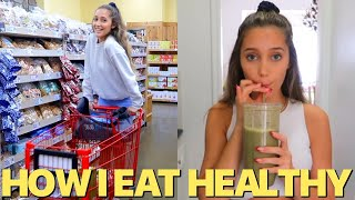 COME GROCERY SHOPPING AND HEALTHY COOKING WITH ME! How I Eat Healthy to stay FIT
