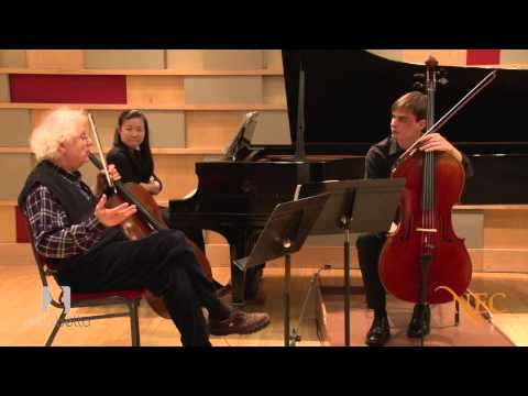 Laurence Lesser Master Class: Rachmaninoff Cello Sonata in G Minor