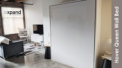 Hover Modern Murphy Bed with smooth mechanics