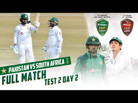 LIVE - Pakistan vs South Africa | 2nd Test Day 2 | PCB