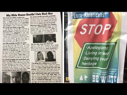 Fliers Warn White Women Stay Away From Black Men