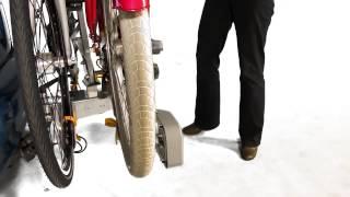 Spinder fietsendrager monteren